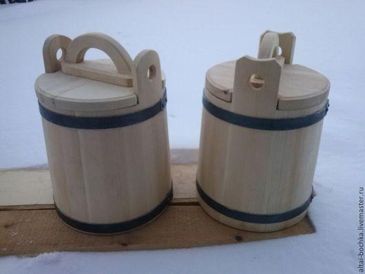 Кухня ручной работы. Ярмарка Мастеров - ручная работа. Купить кадка-ушат для соления 10 литрв. Handmade. Бежевый, для кухни