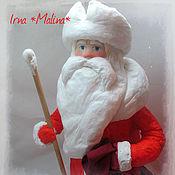 Куклы и игрушки ручной работы. Ярмарка Мастеров - ручная работа Ватный дед Мороз Продан. Handmade.