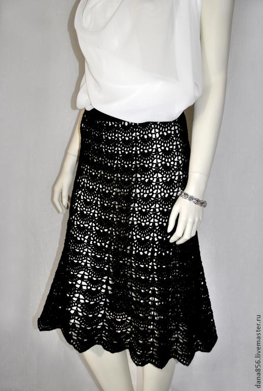 Вязаные крючком юбки цена