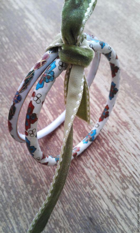 Винтажные украшения. Ярмарка Мастеров - ручная работа. Купить Набор браслетов №1. Handmade. Белый, винтажное украшение, подарок любимой