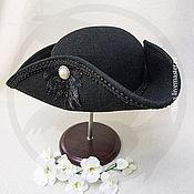 Субкультуры handmade. Livemaster - original item Tricorn (black). Handmade.