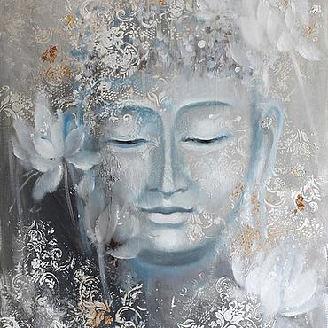 Картины и панно ручной работы. Ярмарка Мастеров - ручная работа Buddha. Handmade.