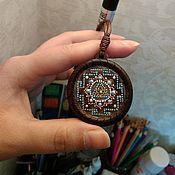 Фен-шуй и эзотерика handmade. Livemaster - original item Yantra: the Yantra of Ganesha pendant. Handmade.