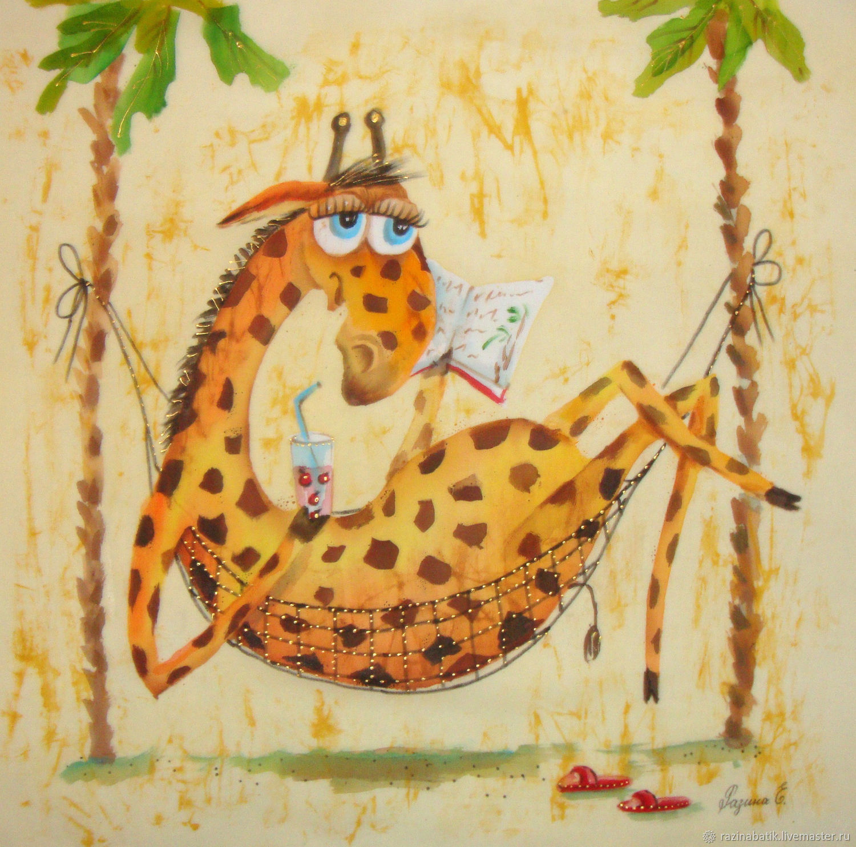 Картинки батиком животные