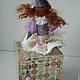 Коллекционные куклы ручной работы. Клоунесса. Авторская кукла-часы.. Наталья Дегтярева (Natadeg). Ярмарка Мастеров. Полимерная глина, цирк