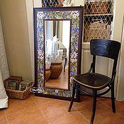 Для дома и интерьера handmade. Livemaster - original item Mirror Chestnuts Painted ceramic tile. Handmade.