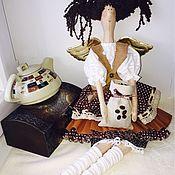 Куклы и игрушки ручной работы. Ярмарка Мастеров - ручная работа Тильда Кофейная феечка. Handmade.