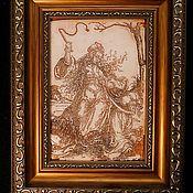 Картины ручной работы. Ярмарка Мастеров - ручная работа Классика средневековой гравюры.. Handmade.