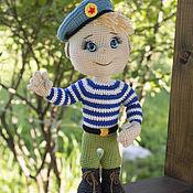 Куклы и игрушки handmade. Livemaster - original item Paratrooper. Handmade.