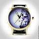"""Часы ручной работы. Ярмарка Мастеров - ручная работа. Купить Часы наручные женские """"Мерлин Монро"""". Handmade. Музыка, фотография"""