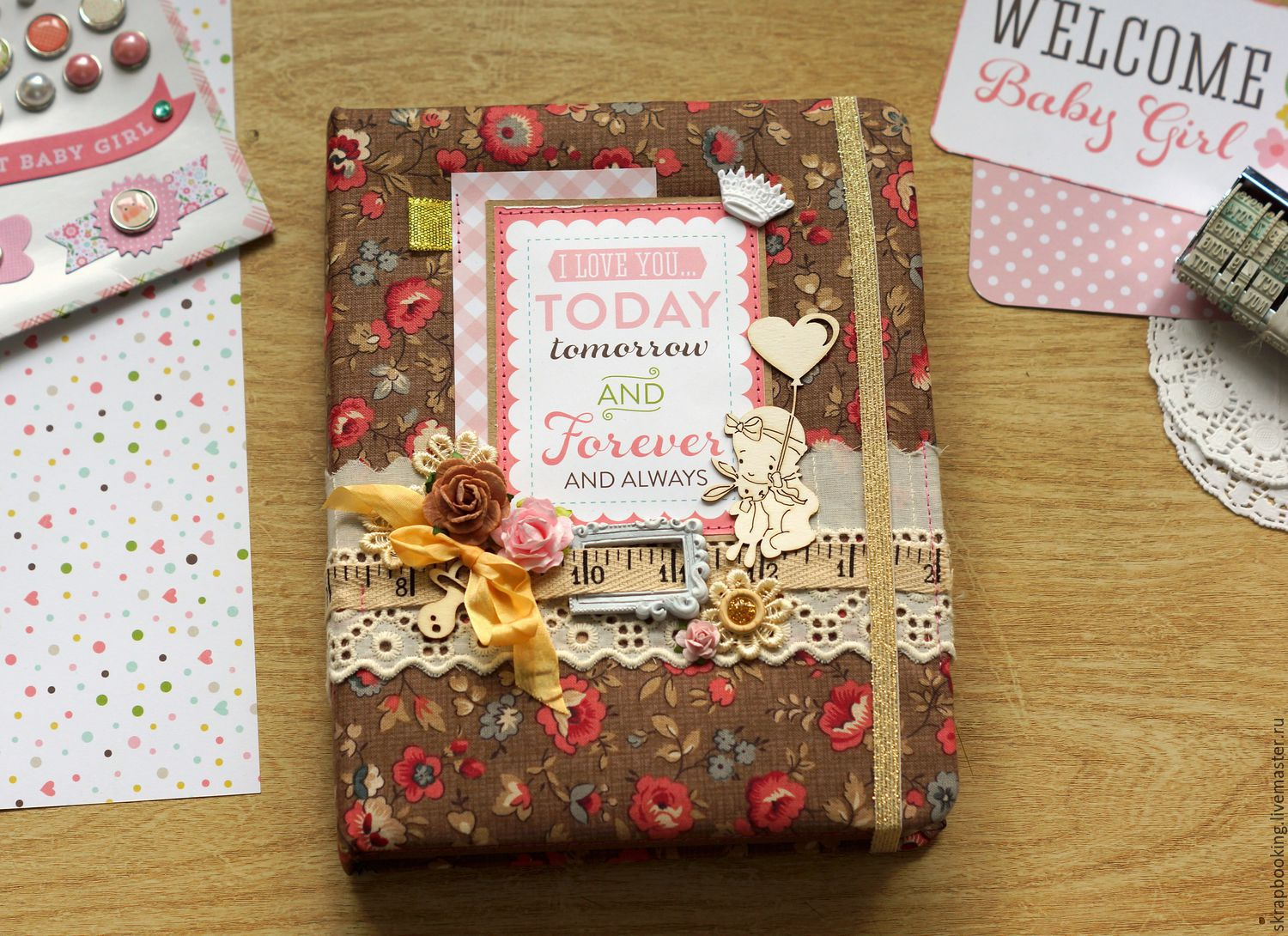 My mother's diary for girls, scrapbooking Workshop Living History