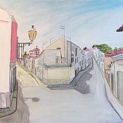 handmade. Livemaster - original item Oil painting: LAGOS, PORTUGAL-m/x, 50h40, impressionism. Handmade.