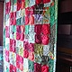 Patchwork bedspreads: ' Patio Poppies ' ,'Poppy Meadow'. Blankets. Art-quilt by Natalia Turchaninova. My Livemaster. Фото №4