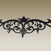 """Для дома и интерьера handmade. Livemaster - original item Вешалка для одежды """"Верда"""". Handmade."""