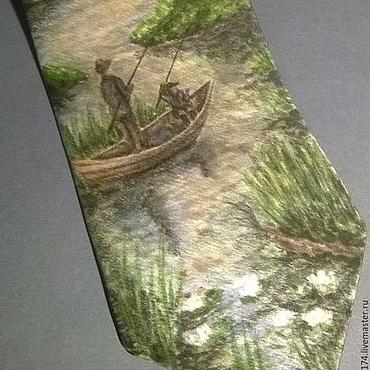 Accessories handmade. Livemaster - original item Tie