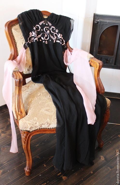 Одежда. Ярмарка Мастеров - ручная работа. Купить Винтажная шелковая сорочка.. Handmade. Винтажная сорочка, антикварная сорочка