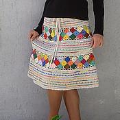 Одежда ручной работы. Ярмарка Мастеров - ручная работа Юбка-пиксель. Handmade.