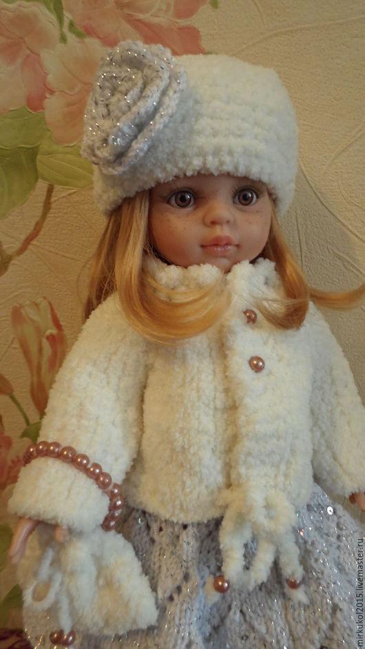 Одежда для кукол ручной работы. Ярмарка Мастеров - ручная работа. Купить Наряд для куклы Паола Рейна. Handmade. Белый