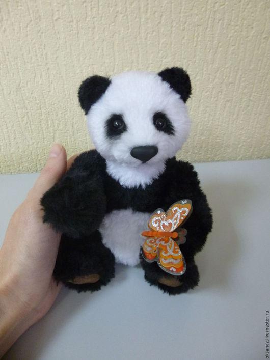 Мишки Тедди ручной работы. Ярмарка Мастеров - ручная работа. Купить Пандик. Handmade. Панда, любовь, синтепух