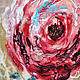 """Картины цветов ручной работы. Панно интерьерное """"Сердце розы"""". Мастерская LaNa Estilo. Ярмарка Мастеров. Панно в подарок, воск"""