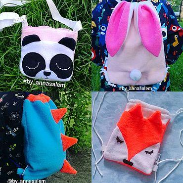 Работы для детей, ручной работы. Ярмарка Мастеров - ручная работа Детские сумки и рюкзаки. Handmade.