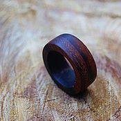 Украшения handmade. Livemaster - original item Wooden rings of precious wood. Handmade.