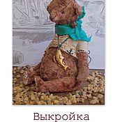 Материалы для творчества ручной работы. Ярмарка Мастеров - ручная работа Выкройка мишки-тедди.. Handmade.