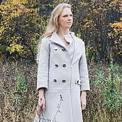 Одежда ручной работы. Ярмарка Мастеров - ручная работа Пальто с заниженной талией. Handmade.