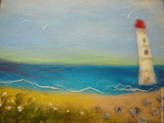 Восход на о. Сааремаа (Эстония) - нарисован с натуры