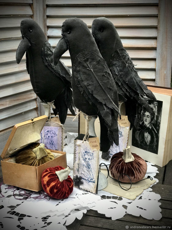 Вороны Тауэра.Хэллоуин, Чердачная кукла, Москва,  Фото №1