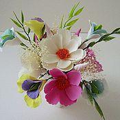 Цветы и флористика ручной работы. Ярмарка Мастеров - ручная работа Легкость бытия - цветочная композиция. Handmade.