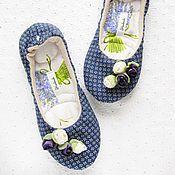 """Обувь ручной работы. Ярмарка Мастеров - ручная работа """"в духе Прованса""""36. Handmade."""
