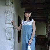 Одежда handmade. Livemaster - original item Sundress summer cotton