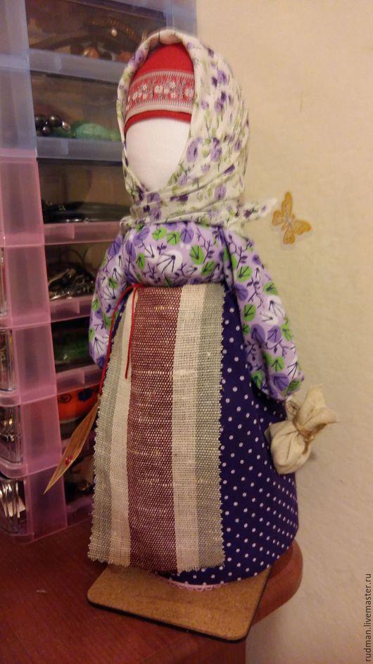 Народные куклы ручной работы. Ярмарка Мастеров - ручная работа. Купить Берегиня дома. Handmade. Ярко-красный, подарок