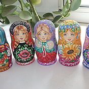 Русский стиль handmade. Livemaster - original item Dolls - little 3 m. Handmade.