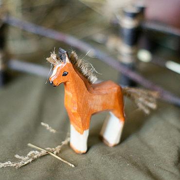 Куклы и игрушки ручной работы. Ярмарка Мастеров - ручная работа Жеребёнок. Handmade.