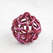 Сувениры и подарки handmade. Livemaster - original item Bell - Christmas ball Cherry. Handmade.