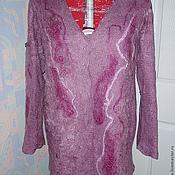 Одежда handmade. Livemaster - original item cardigan wool cranberry glade. Handmade.