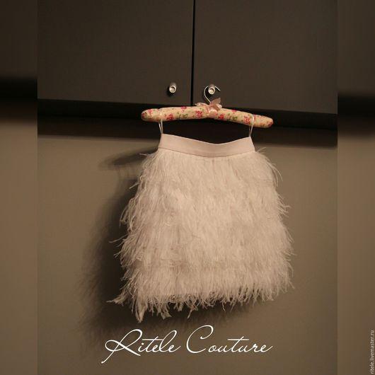 """Юбки ручной работы. Ярмарка Мастеров - ручная работа. Купить Юбка """"White swan"""". Handmade. Платье вечернее, юбка короткая"""