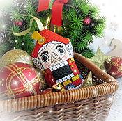 Подарки к праздникам handmade. Livemaster - original item The Nutcracker, hanging toy. Handmade.