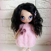 Куклы и игрушки ручной работы. Ярмарка Мастеров - ручная работа Текстильная кукла Ася. Handmade.