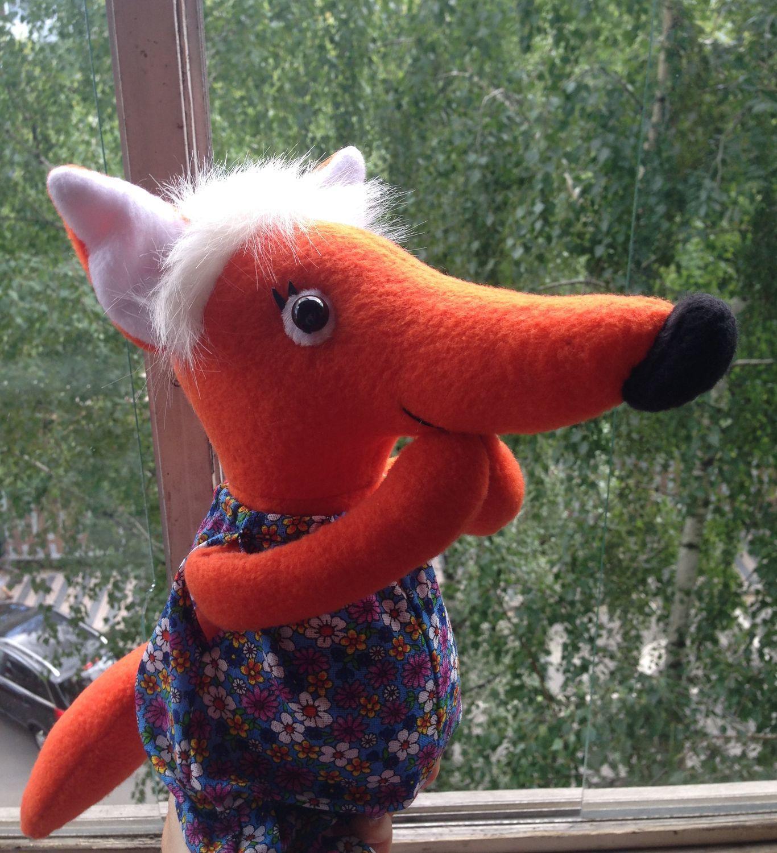 Куклы и игрушки ручной работы. Ярмарка Мастеров - ручная работа. Купить Игрушки: Лиса. Handmade. Лиса, подарок детям