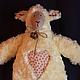 Игрушки животные, ручной работы. Ярмарка Мастеров - ручная работа. Купить овечка Люси. Handmade. Бежевый, игрушка ручной работы