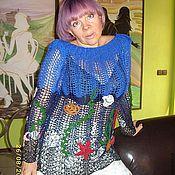 Одежда handmade. Livemaster - original item Tunic knitting Irish lace