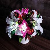 Для дома и интерьера handmade. Livemaster - original item Available!Bouquet-lamp