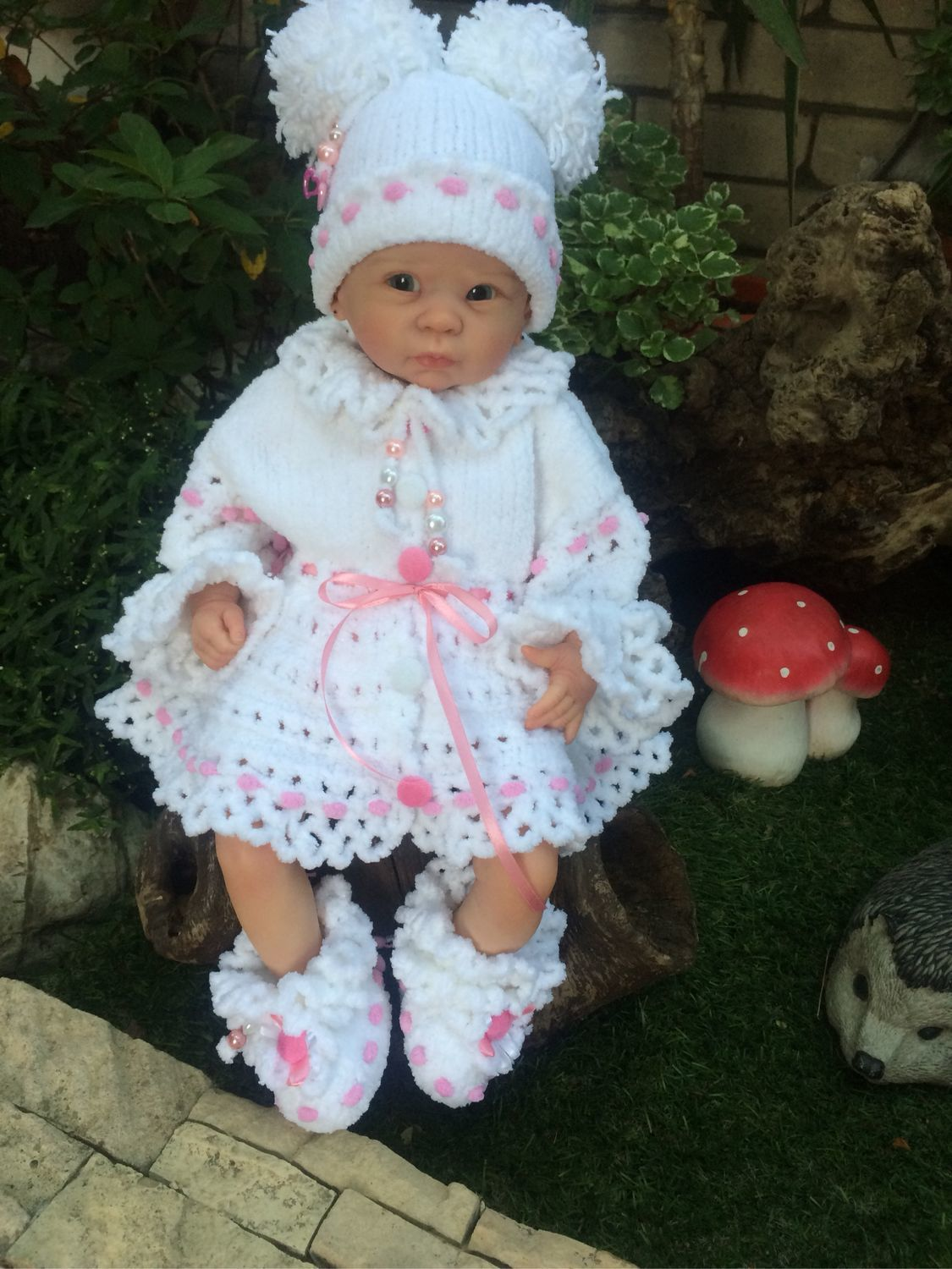 Set of clothes for newborns on discharge 'Butterfly», Baby Clothing Sets, Dzhubga,  Фото №1