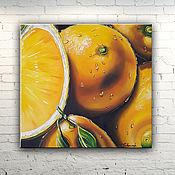 """Картины и панно handmade. Livemaster - original item Picture """"Citrus"""". Handmade."""