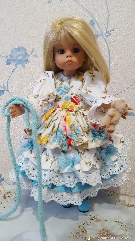 1500 рублей! Платье Paola Reina 32 - 34 см Лето в Версале, Одежда для кукол, Москва,  Фото №1