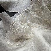 Аксессуары ручной работы. Ярмарка Мастеров - ручная работа валяный шарф Нежность. Handmade.