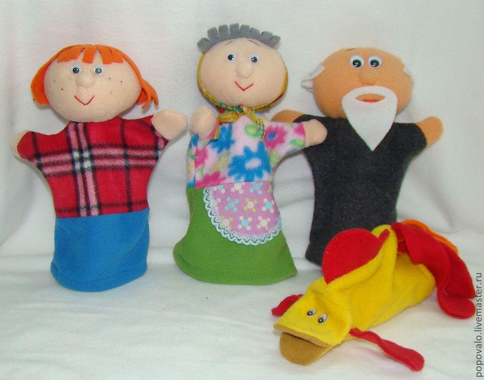 Сделать куклу для театра своими руками